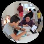 """classe Lab """"la Mine"""" du collège Waldeck-Rousseau"""